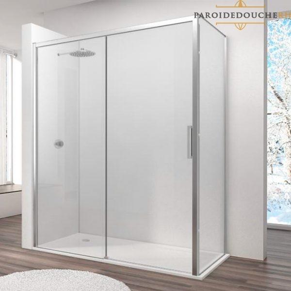 paroi-de-douche-portes-coulissantes-profil-chrome-rh1264L