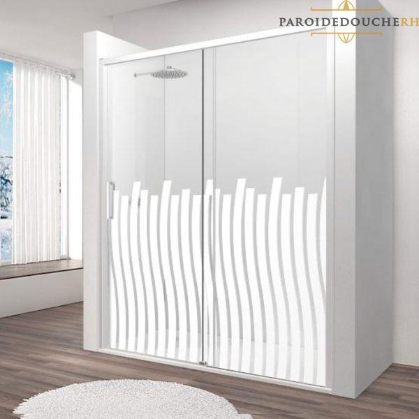 paroi-de-douche-profil-blanc-verre-serigraphiee-rh1264