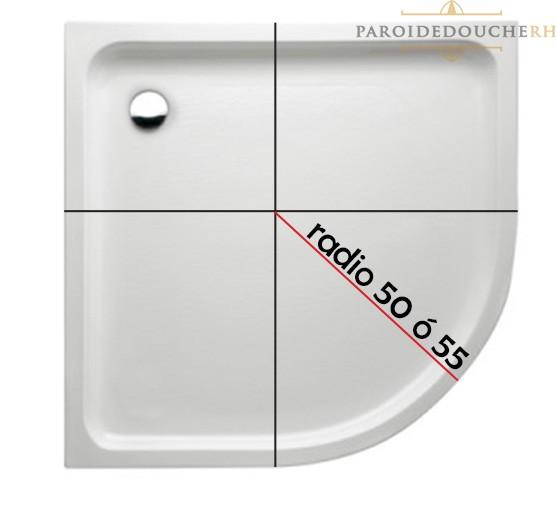 mesurer-receveur-de-douche-arrondie