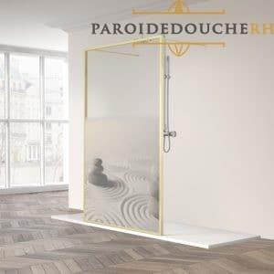 Paroi-de-douche-fixe-mate-or-verre-or-RH1984-stone
