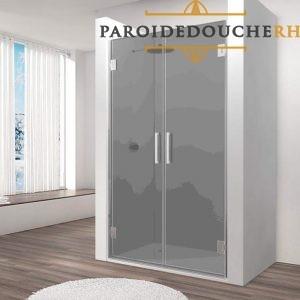 paroi-de-douche-portes-a-battants-verre-8-mm-gris-fumee-rh1428
