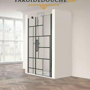paroi-de-douche-en-niche-portes-battantes-noir-industrielle-rh1471f