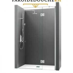 paroi-de-douche-chrome-pivotante-rh1403