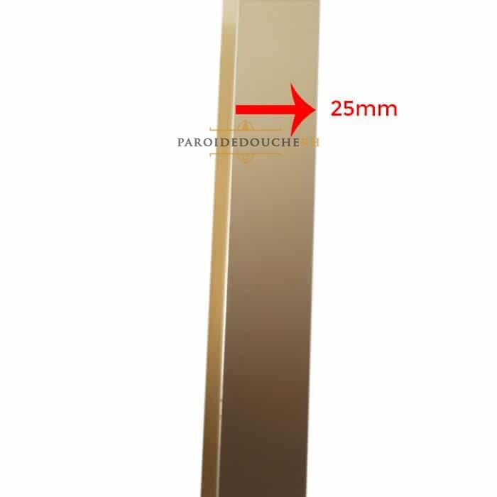 Profil U 25 mm