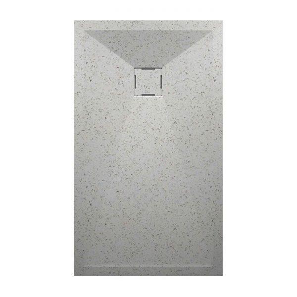 Receveur de douche Granite Blanc